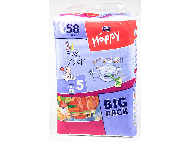 Bella Baby Happy Junior plenky 58ks