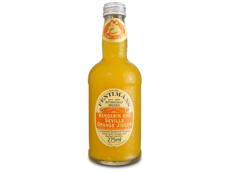 Fentimans Mandarin and Seville Orange Jigger 275ml, sklo
