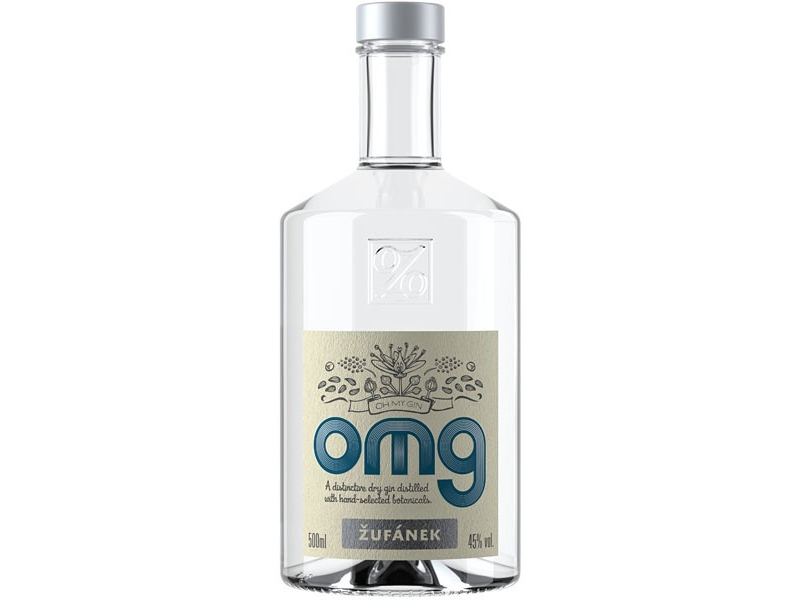 Žufánek OMG Gin 45% 500ml