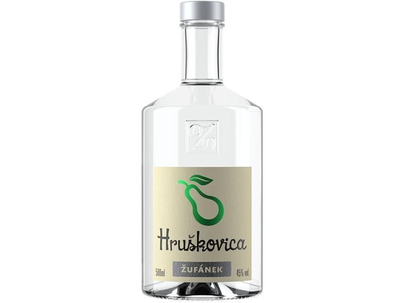 Žufánek Hruškovica 45% 500ml