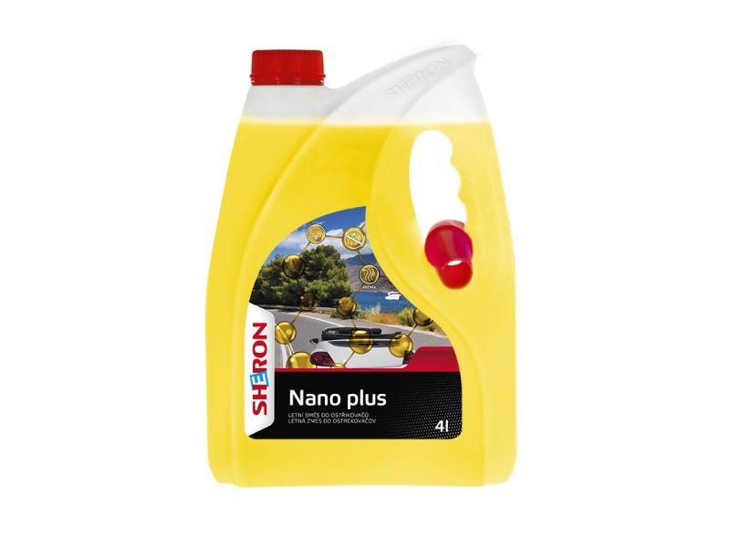 SHERON Nano plus Letní směs do ostřikovačů 4l