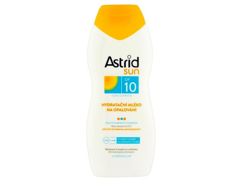 Astrid Hydratační mléko na opalování OF 10 200ml