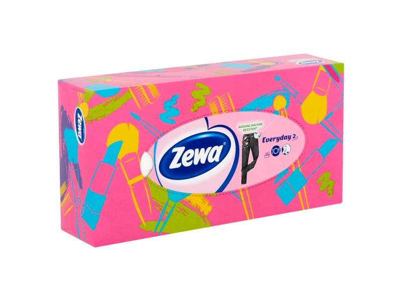 Zewa Everyday Papírové kapesníčky 2-vrstvé 100 ks