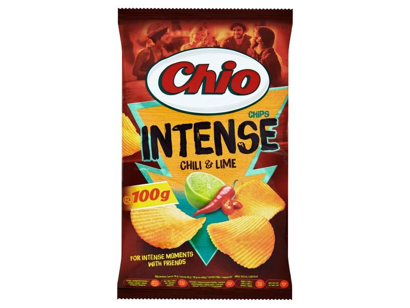 Chio Chips Intense s příchutí chilli a limetky 100g