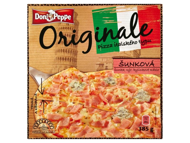 Don Peppe Originale Pizza šunková mraž. 370g
