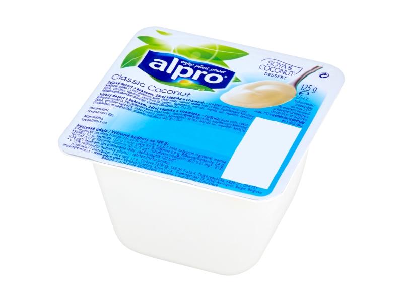 Alpro Sójový dezert s příchutí kokosu 125g