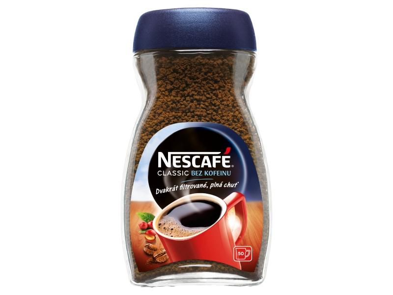 NESCAFÉ CLASSIC Instantní káva bez kofeinu, 100g