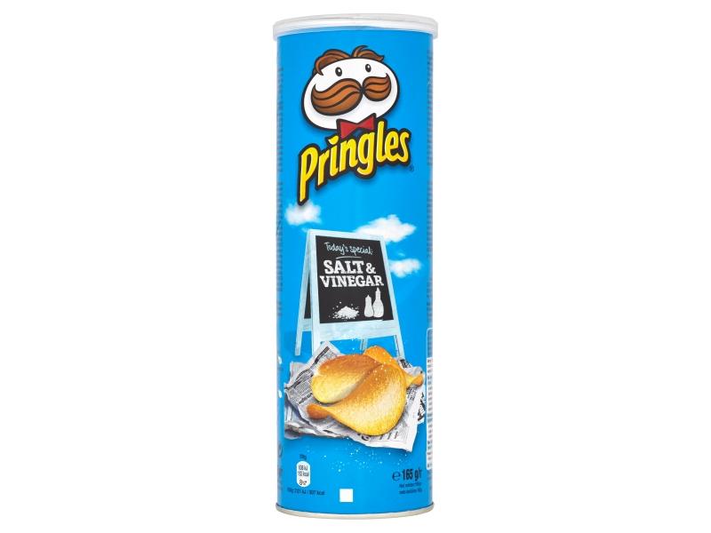 Pringles Bramborové lupínky ocet a sůl 165g