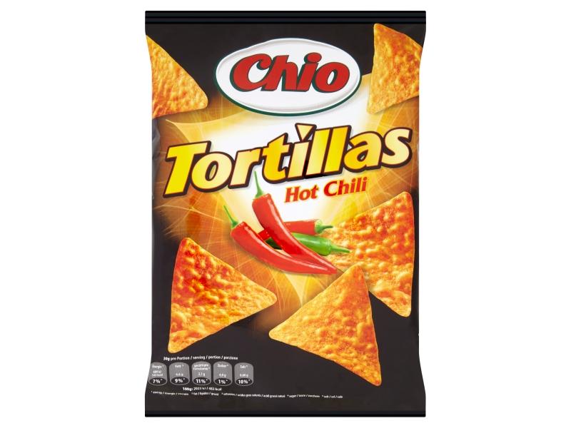 Chio Tortillas s příchutí chili 125g