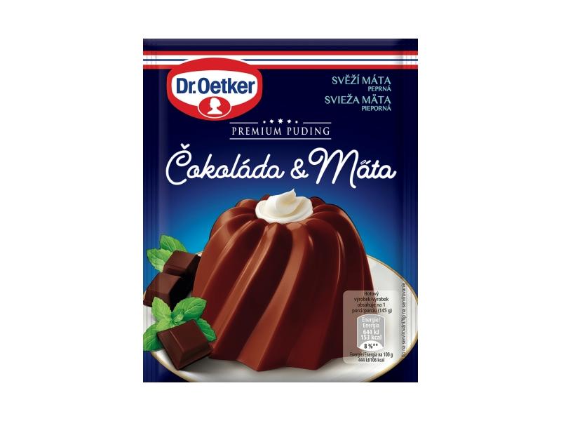 Dr. Oetker Premium Puding Čokoláda & Máta, 50g
