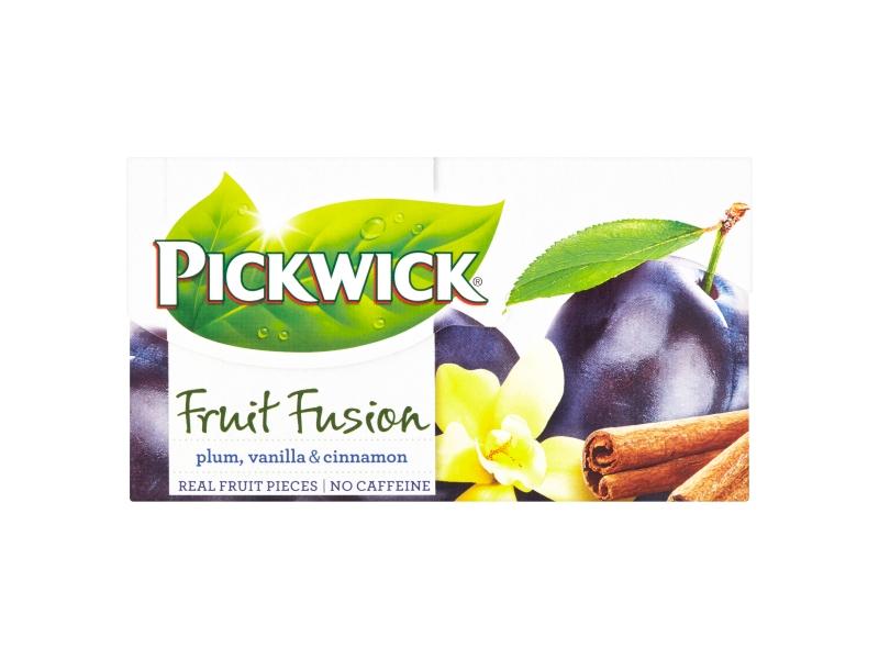 Pickwick Fruit Fusion Plum, Vanilla & Cinnamon, 20 x 2g