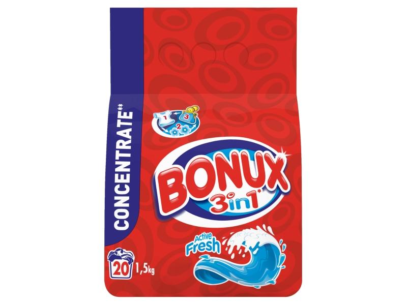 Bonux Active Fresh Prací Prášek (20 praní ) 1,5kg