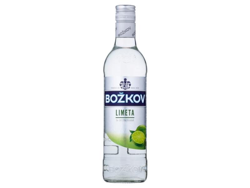 Božkov Limeta Vodka 33% 0,5l