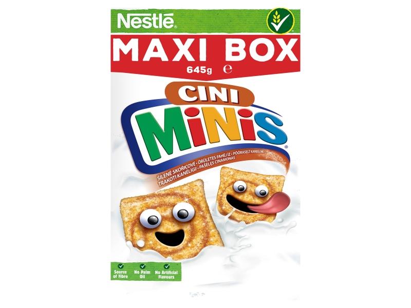 NESTLÉ CINI MINIS 645g, Maxi box