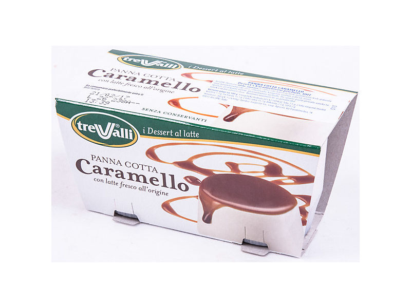 Trevalli Panna Cotta Caramello 2x100g
