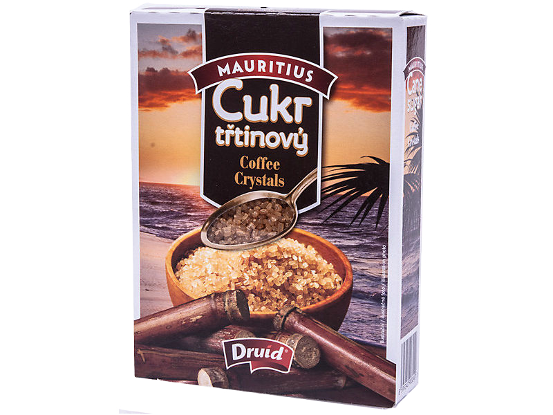 Druid Cukr třtinový Coffee Crystals 350g