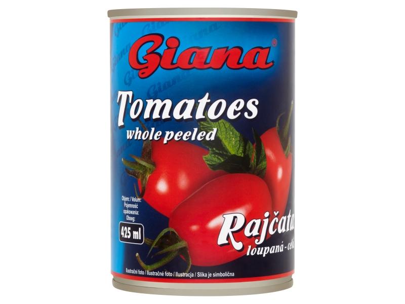 Giana Rajčata loupaná - celá 425ml