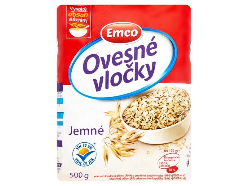 Emco Ovesné vločky jemné 500g