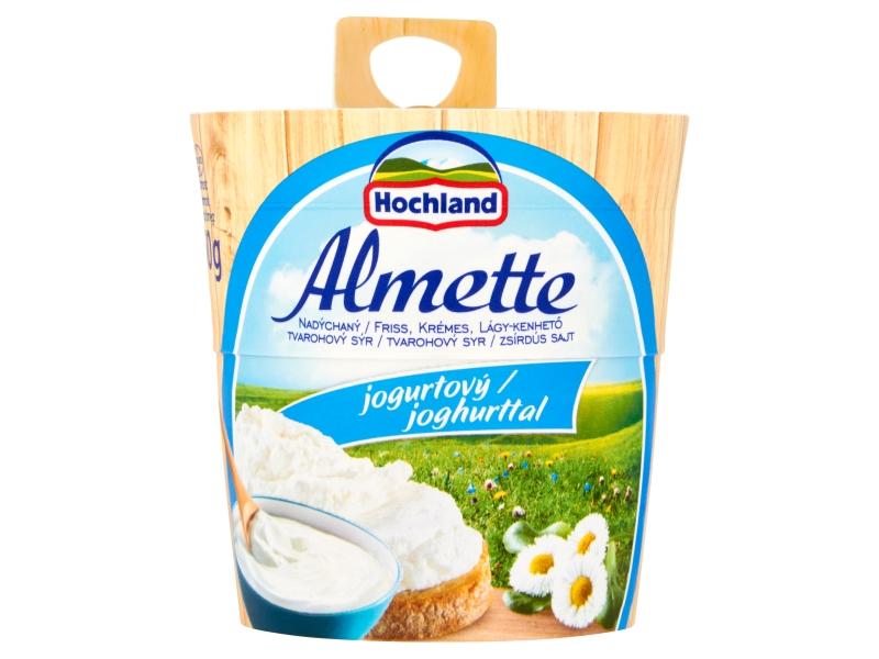 Hochland Almette Nadýchaný tvarohový sýr jogurtový 150g