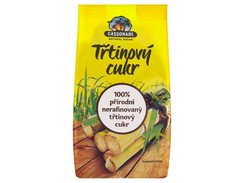 Cassonade Přírodní Třtinový cukr nerafinovaný 500g
