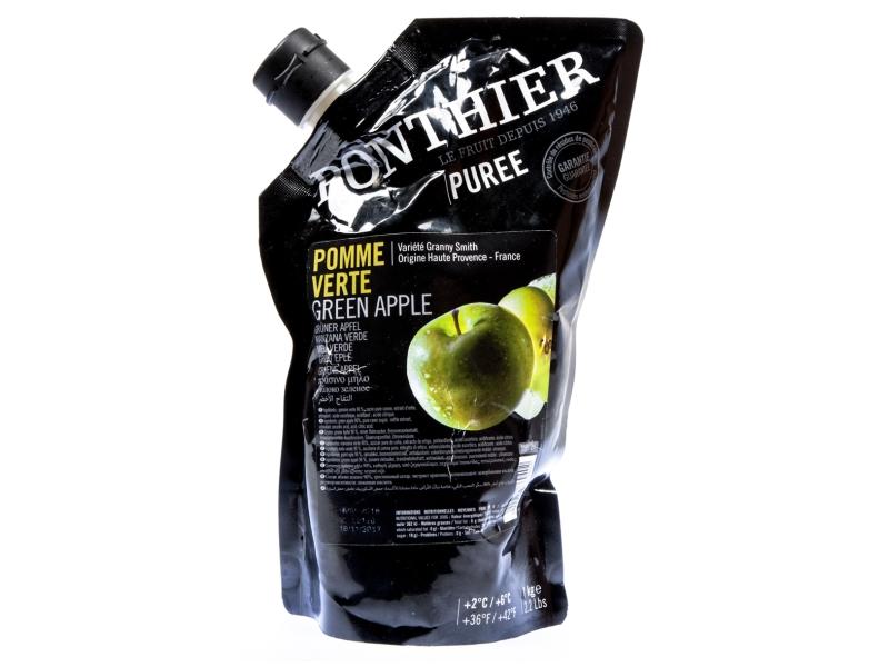 Ponthier Puree Pyré ovocné zelené jablko 1kg