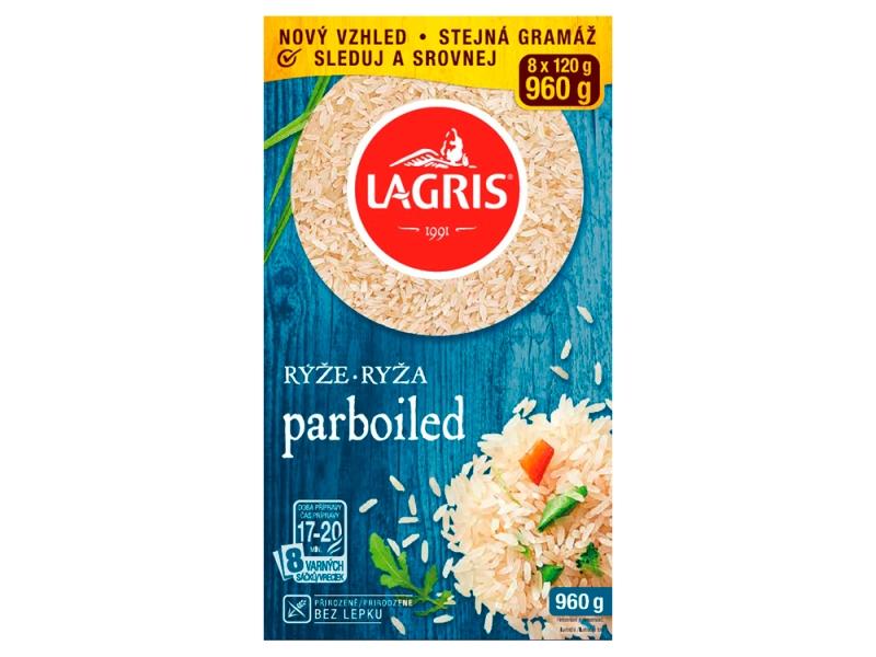 Lagris Rýže parboiled ve varných sáčcích 960g