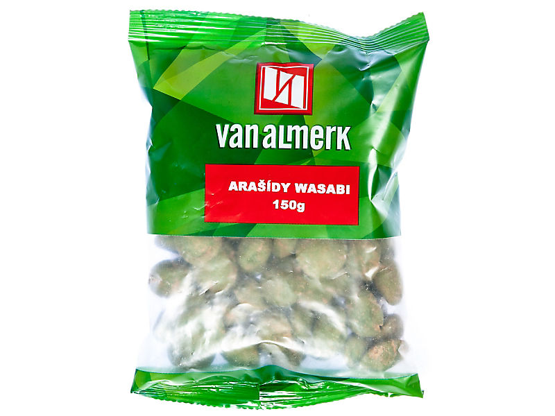 VanAlmerk Arašídy wasabi 150g