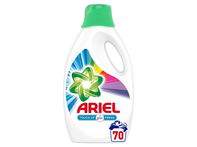Ariel Touch Of Lenor Color Tekutý Prací Prostředek (70 praní) 3,85L