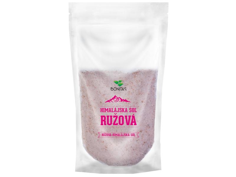 Bonitas Himalájská sůl růžová - jemná 500g