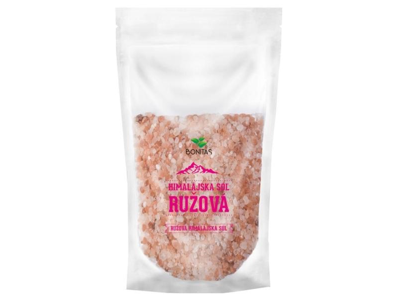 Bonitas Himalájská sůl růžová - hrubá 500g
