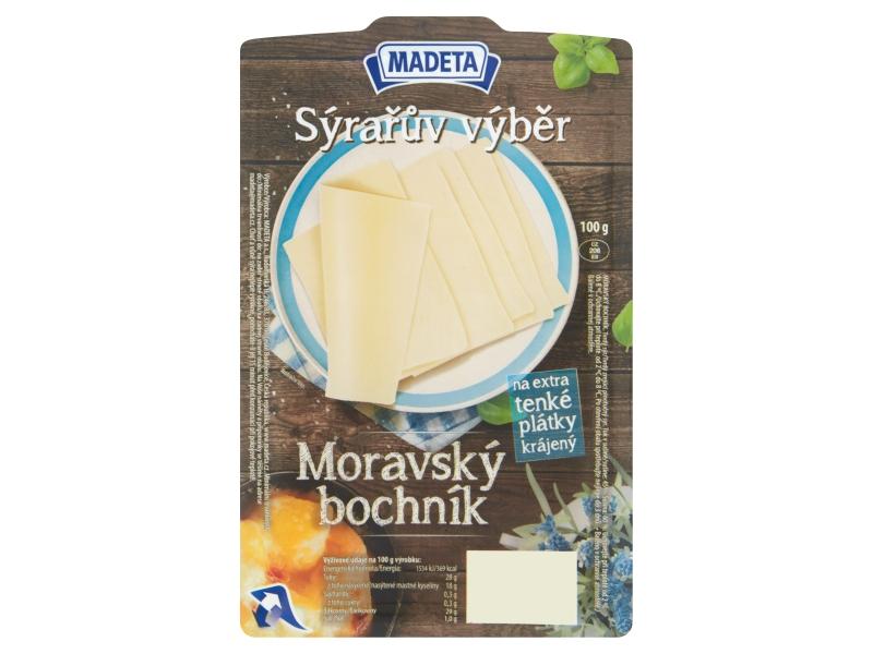 Madeta Moravský bochník 45% plátky 100g