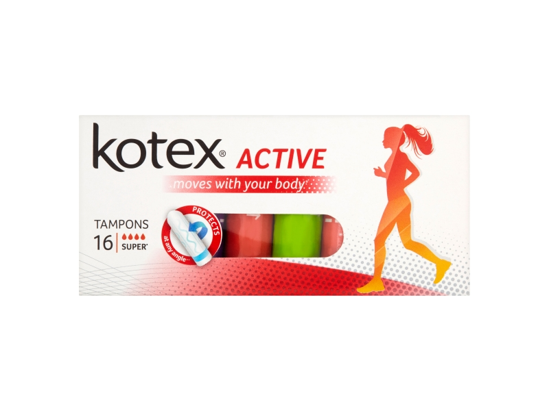 Kotex Active Super tampóny 16 ks
