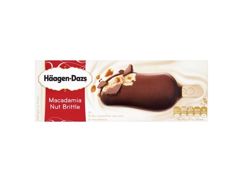 Häagen-Dazs Macadamia Nut Brittle nanuk 80ml