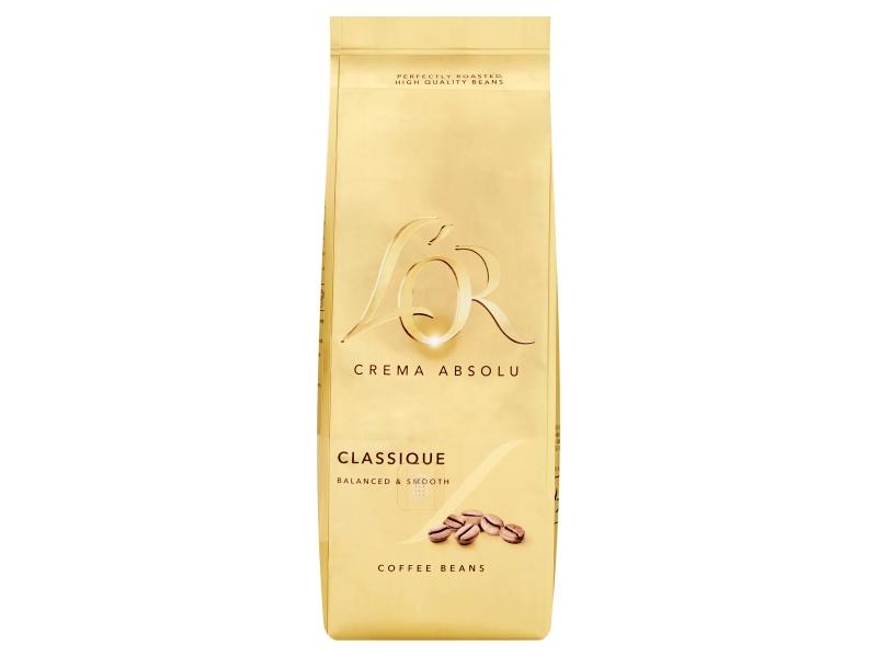 L'OR CREMA ABSOLU Classique zrnková káva 500g