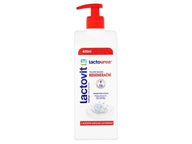 Lactovit Lactourea Tělové mléko regenerační 400ml
