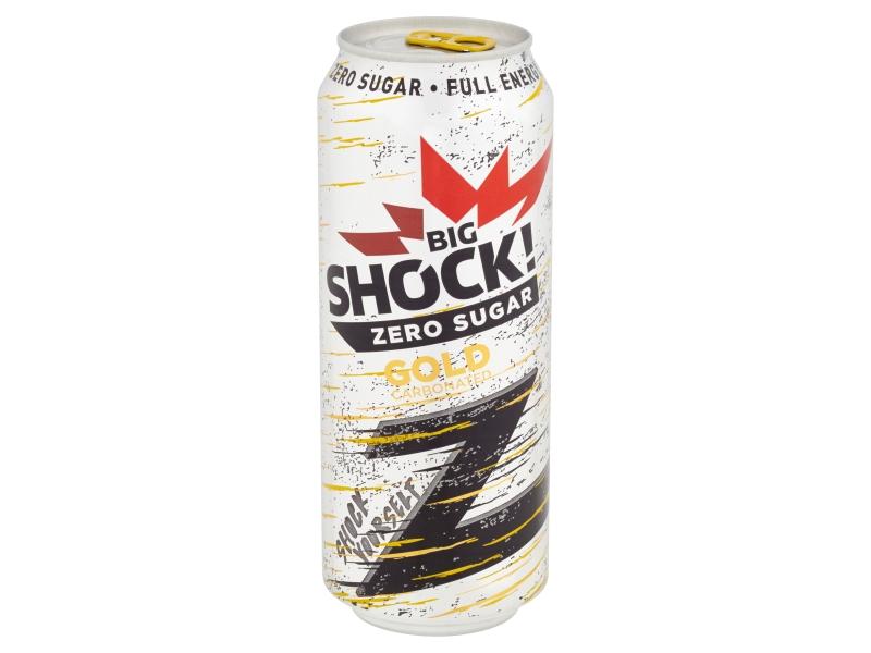Big Shock! Zero Gold energetický nápoj 500ml