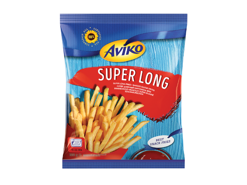 Aviko Super Long Hranolky do trouby 600g