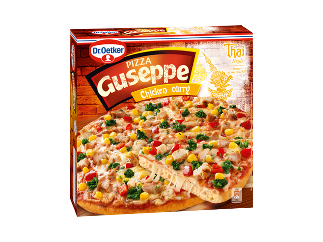 Dr. Oetker Guseppe Pizza Chicken Curry mraž. 375g