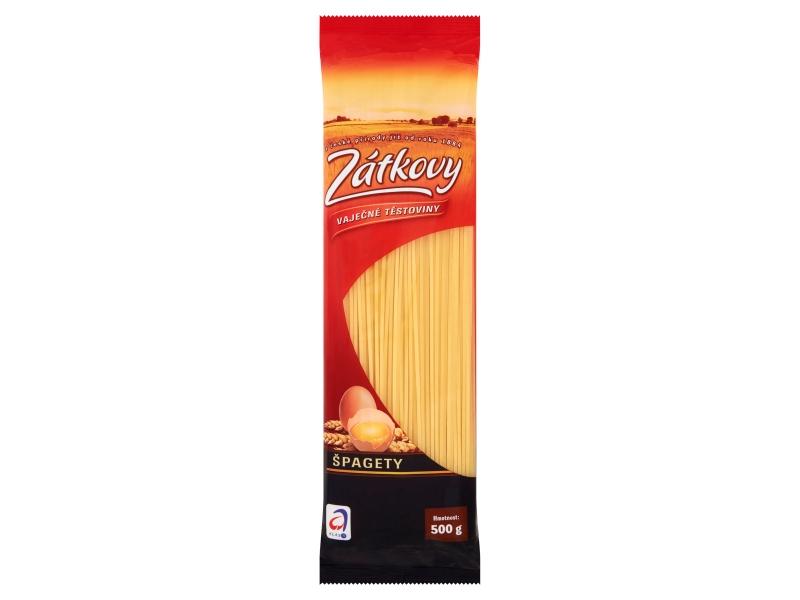 Zátkovy Vaječné Těstoviny Špagety 500g