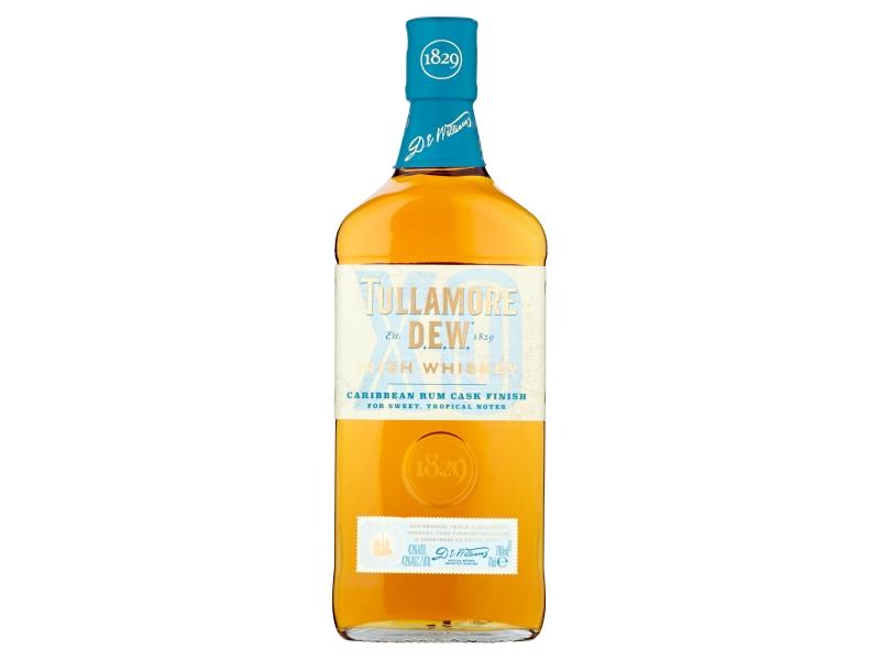 Tullamore D.E.W. XO Caribbean Rum Cask Finish 43%, 0,7l