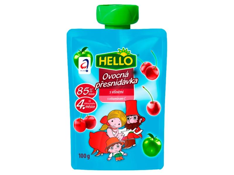 Hello Ovocná kapsička s višněmi 100g