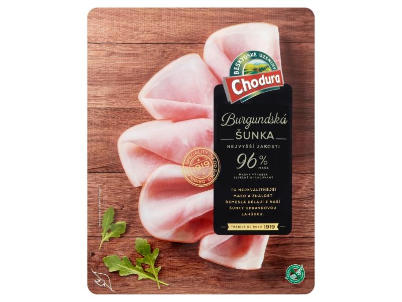 Chodura Burgundská šunka nejvyšší jakosti 100g