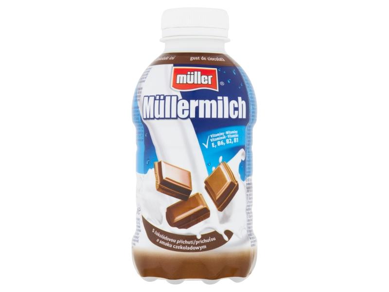 Müllermilch Mléčný nápoj s čokoládovou příchutí 400g
