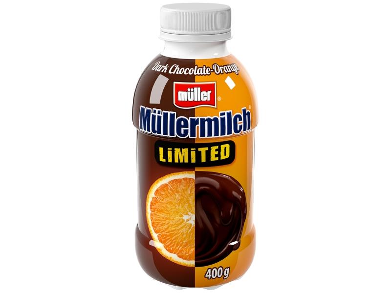 Müllermilch Mléčný nápoj Limitovaná edice 400g