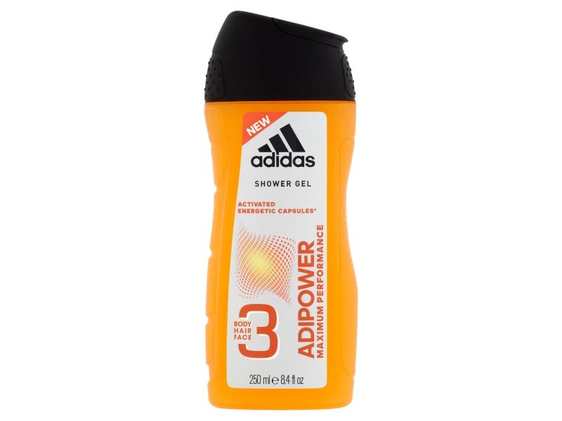 Adidas Adipower sprchový gel 3v1 250ml