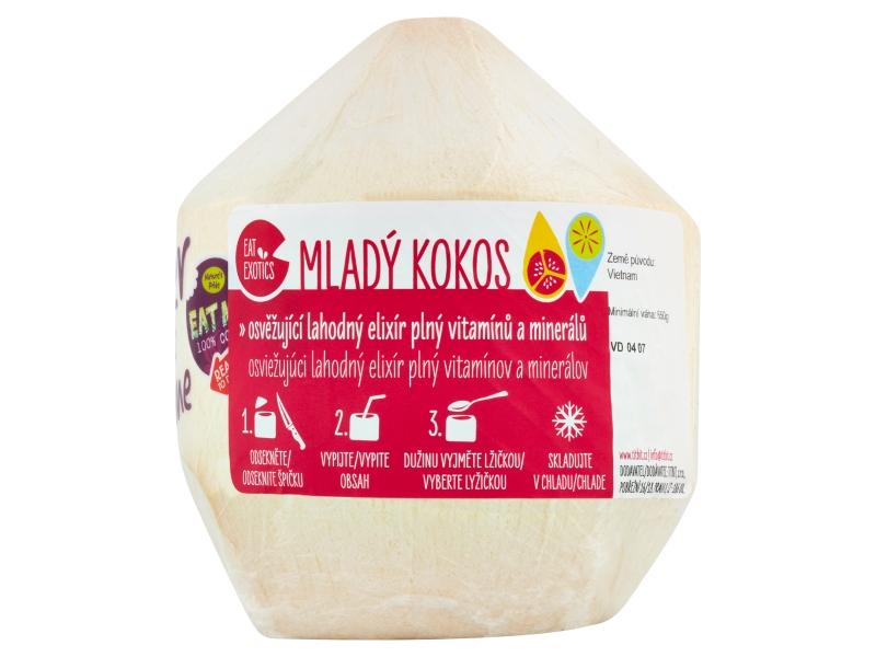 Kokos bílý mladý čerstvý (750g+)