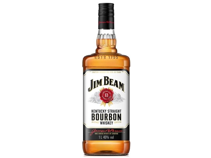 Jim Beam White 40%, 1l