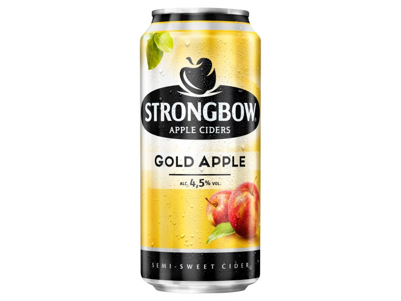 Strongbow cider Gold Apple 440ml, plech