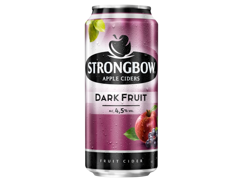 Strongbow cider Dark Fruit 440ml, plech