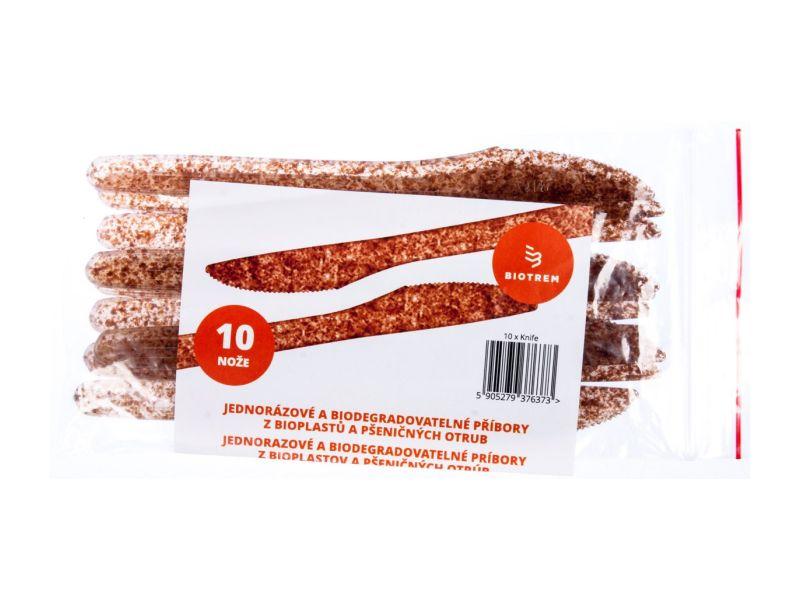 BIOTREM Nůž z pšeničných otrub 10ks